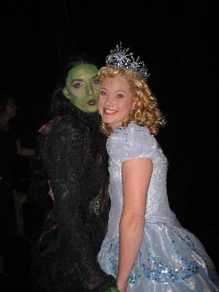 Lindsay Northen, Julia Murney, Wicked, Glinda, Elphaba