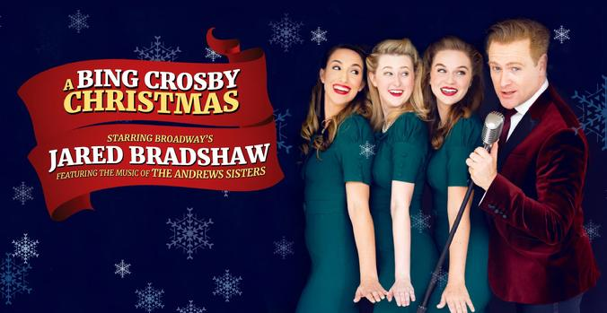jared bradshaw chicago mariott bing crosby broadway maggie salley andrews sisters molly wiley houston jess berzack andrews sisters