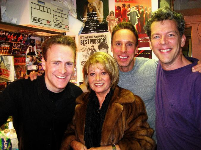 elaine paige, jared bradshaw, michael west, david caldwell