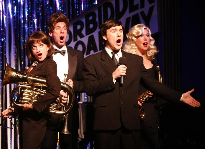jared bradshaw forbidden broadway janet dickinson val fagan michael west