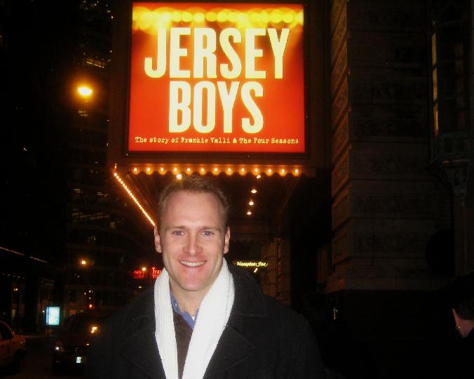 jared bradshaw Jersey boys