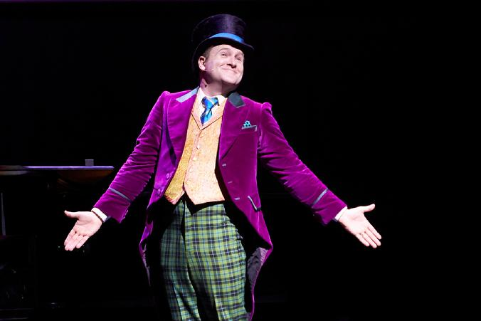 jared bradshaw willy wonka charlie and the chocolate factory braodway musical musicals jersey boys forbidden broadway